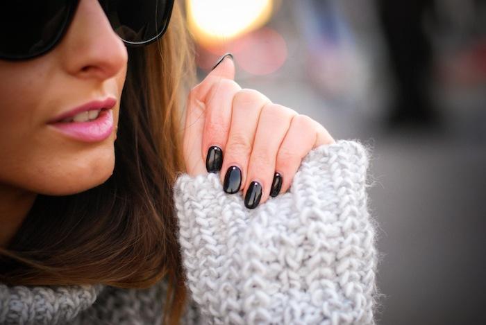 nails pink lips beauty inspiration