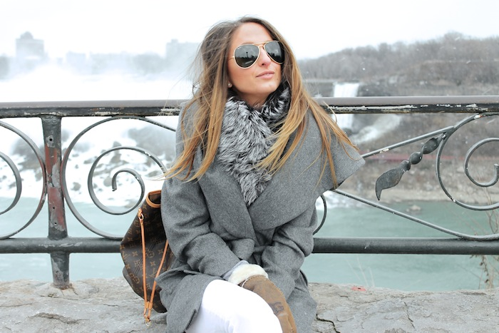 ombre hair blogger fashion louis vuitton style winter fashion