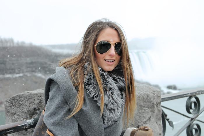 ombre hair style long toronto fashion blogger