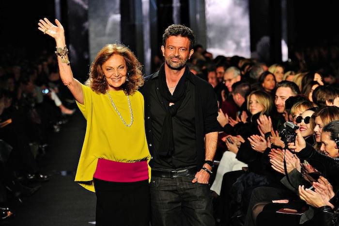 diane von furstenberg runway fashion show