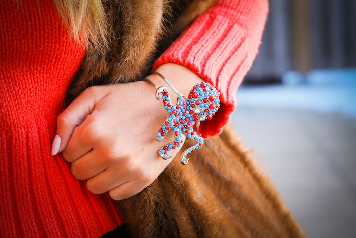accessory blog bracelet how to wear animal jewellery