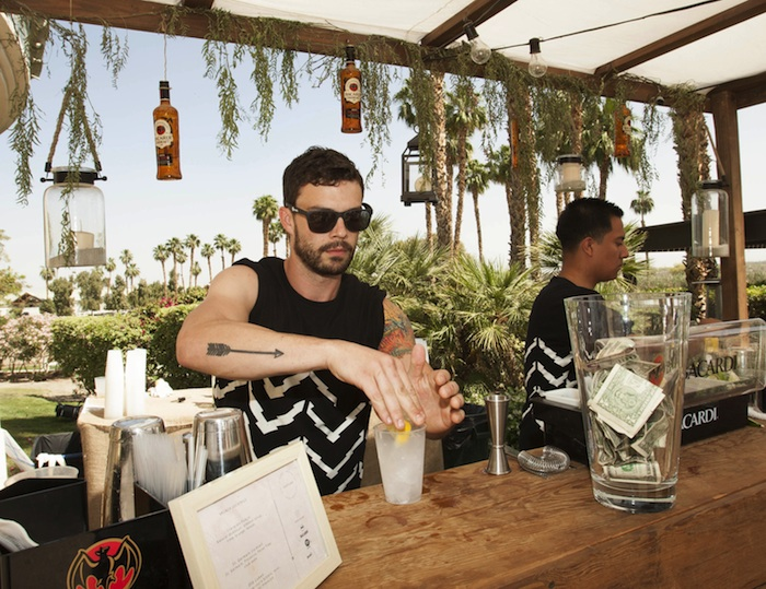 A general view of the atmosphere at Soho Desert House with Bacardi and Spotify Day 3p_1