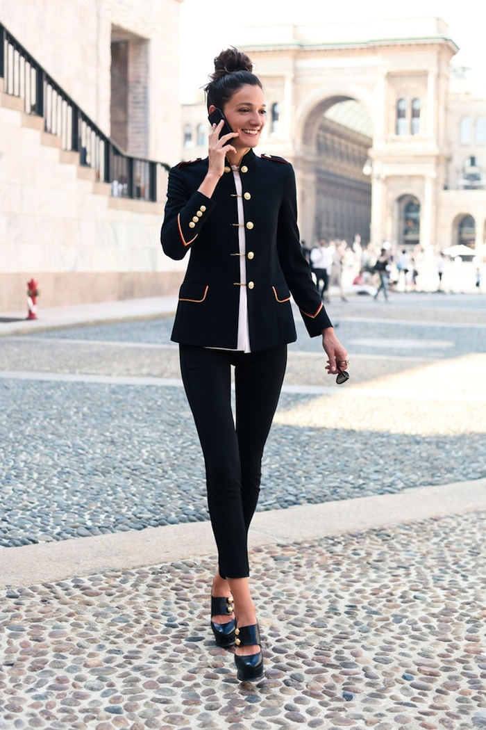Silvia Bergomi Street Style 1