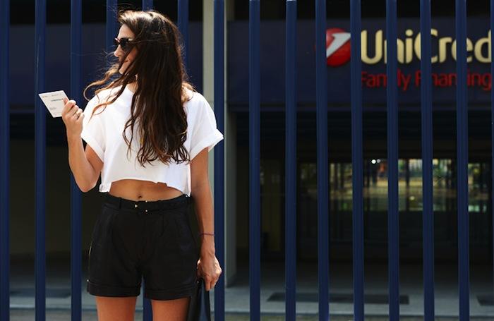 Silvia Bergomi Street Style 14