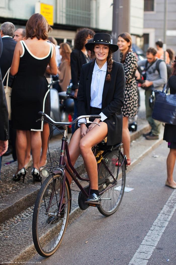 Silvia Bergomi Street Style 2