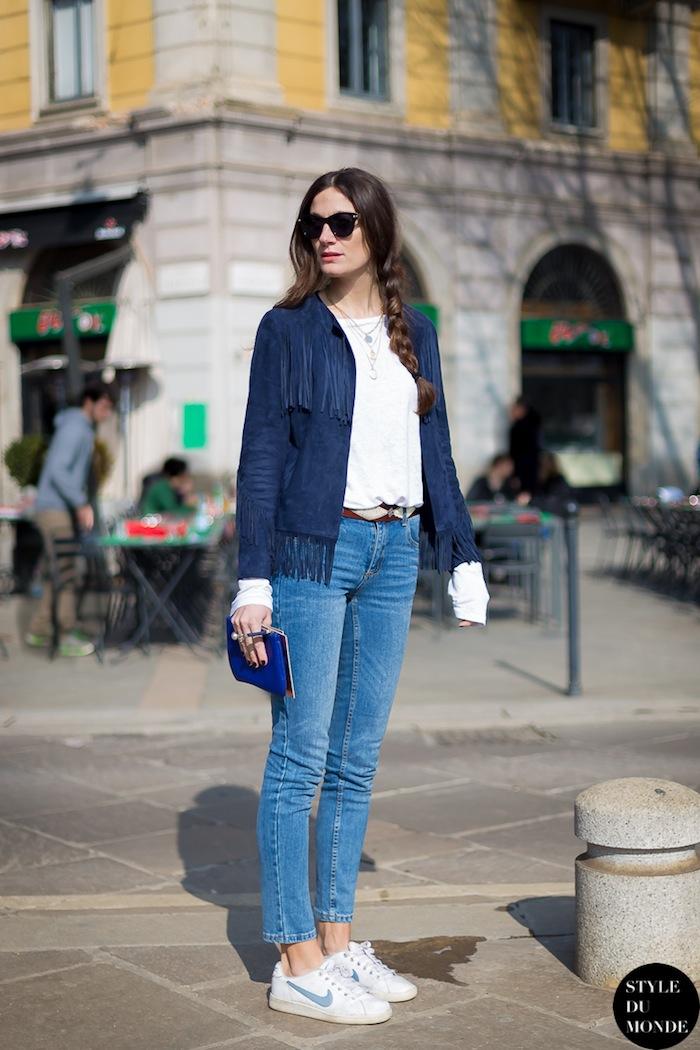 Silvia Bergomi Street Style 21