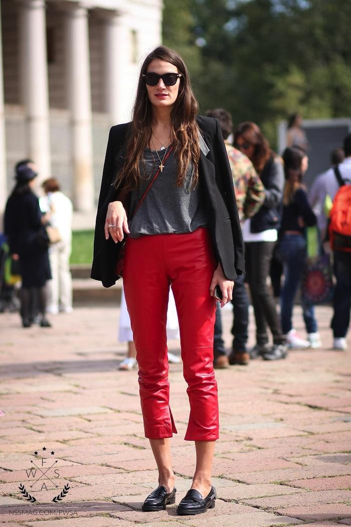 Silvia Bergomi Street Style 22