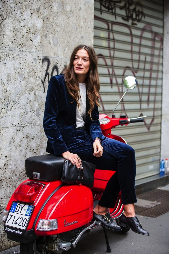 Silvia Bergomi Street Style 3