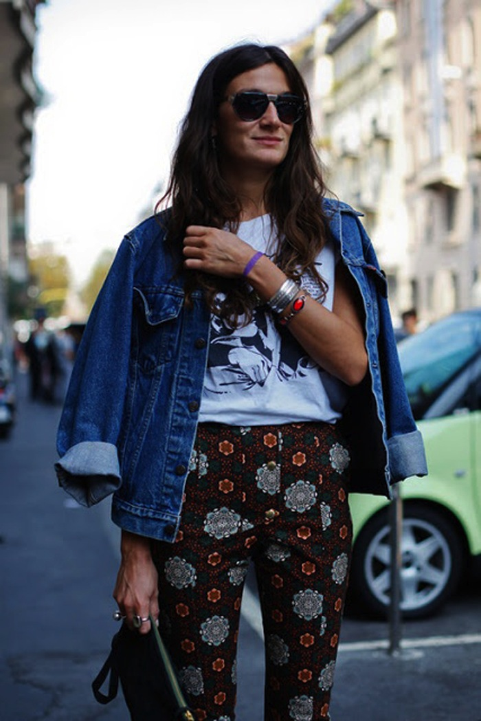 Silvia Bergomi Street Style 5
