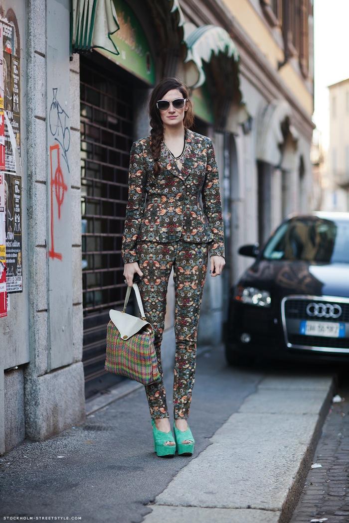 Silvia Bergomi Street Style 8