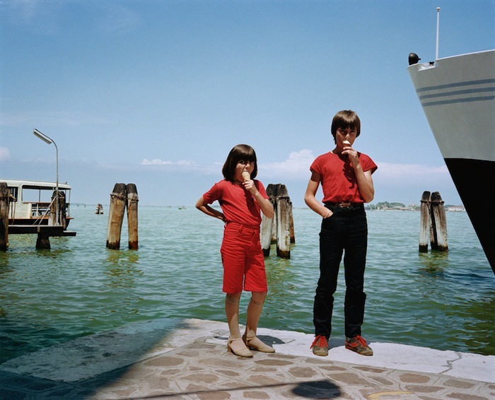 kids with ice cream by charles traub italy