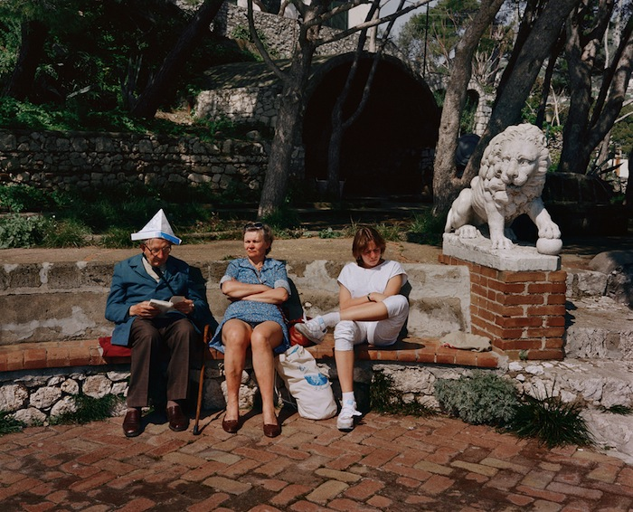 capri in the 1980s by charles traub