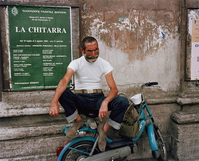 italian guy by charles traub