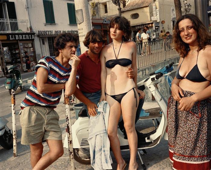 woman on vespa dolce vita charles traub italy