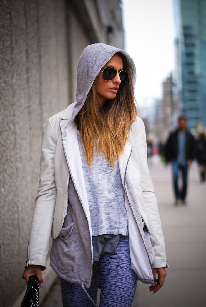 get the model off duty look with these easy steps