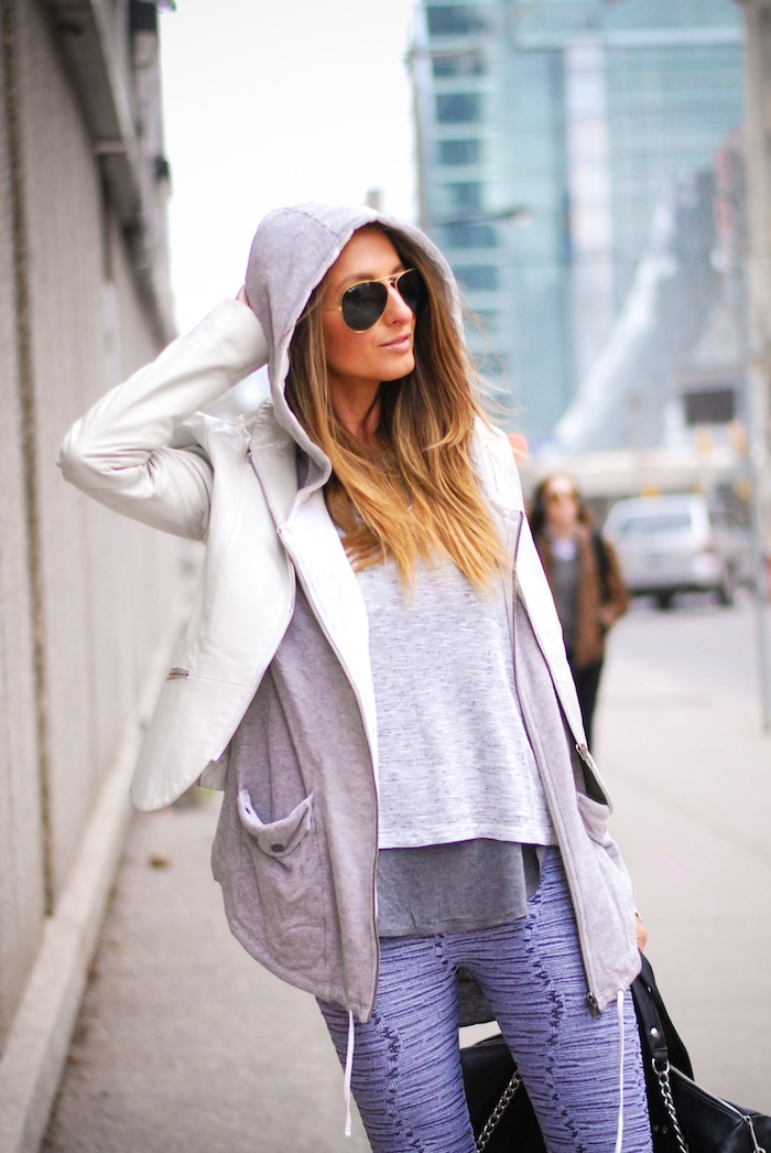 white and grey for spring