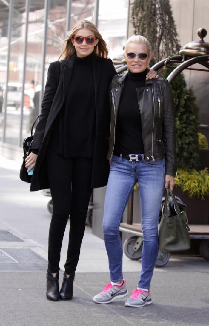 Gigi Hadid Yolanda Foster Style 14