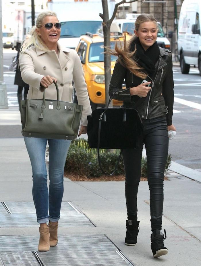 Gigi Hadid Yolanda Foster Style 16