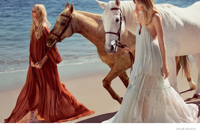 Inspiration | Chloe SS15 Ad Campaign