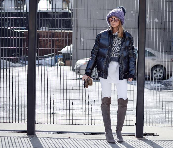 NYFW Street Style Justine Iaboni Bazzul Sweater 04