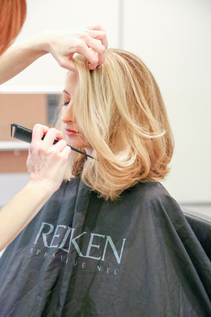 Justine Iaboni Redken Ready World MasterCard Fashion Week 05