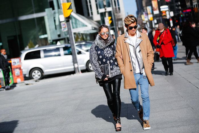 Justine Iaboni streetstyle wmcfw day 1 Walking Canucks Daniel Kim 02