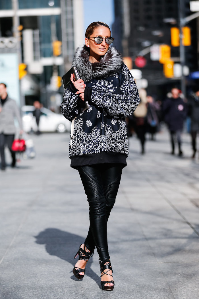 Justine Iaboni streetstyle wmcfw day 1 Walking Canucks Daniel Kim 08