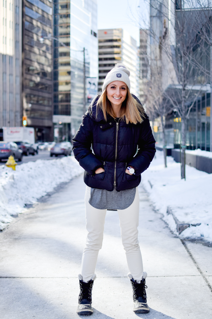 Sorel Boots Winter Outfit Style 04