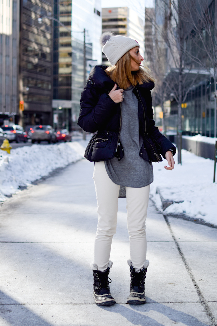 Sorel Boots Winter Outfit Style 13