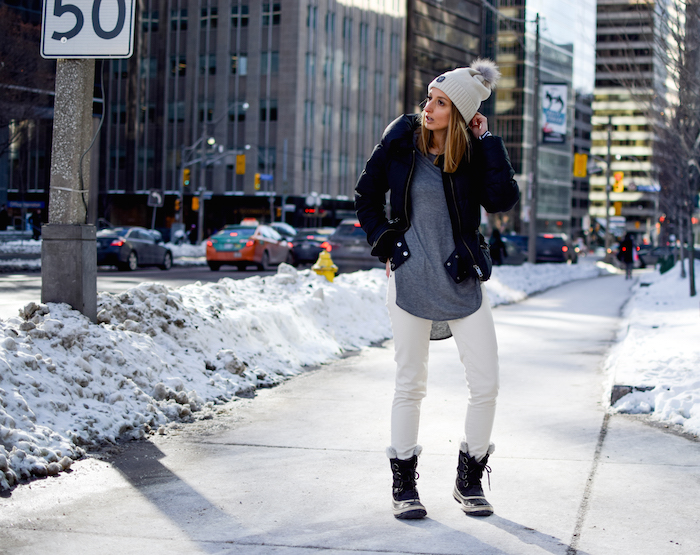 Sorel Boots Winter Outfit Style 26