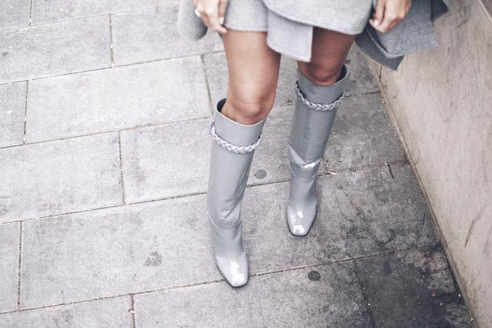 valentino boots knee high