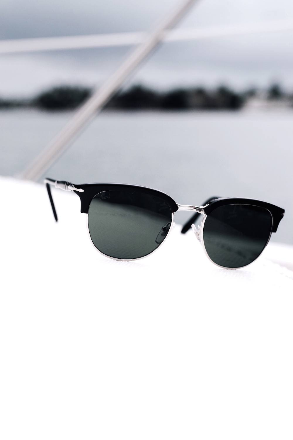 Persol Cellor Black and Grey