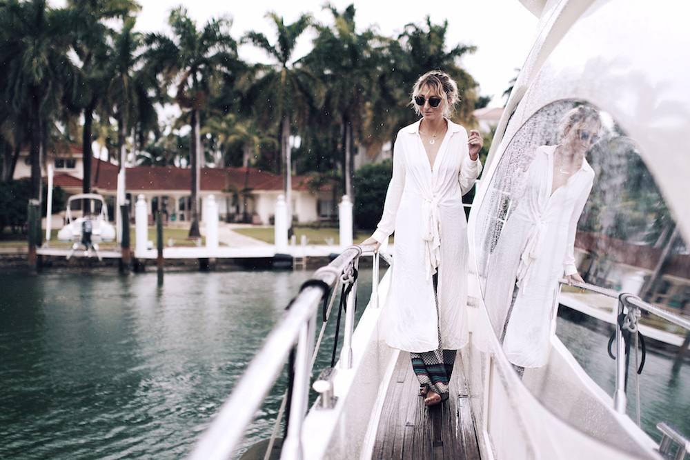 Justine Iaboni Yacht