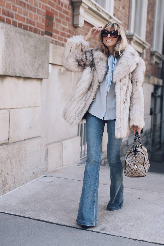 Jetset Justine Fur Coat Style MFW 02