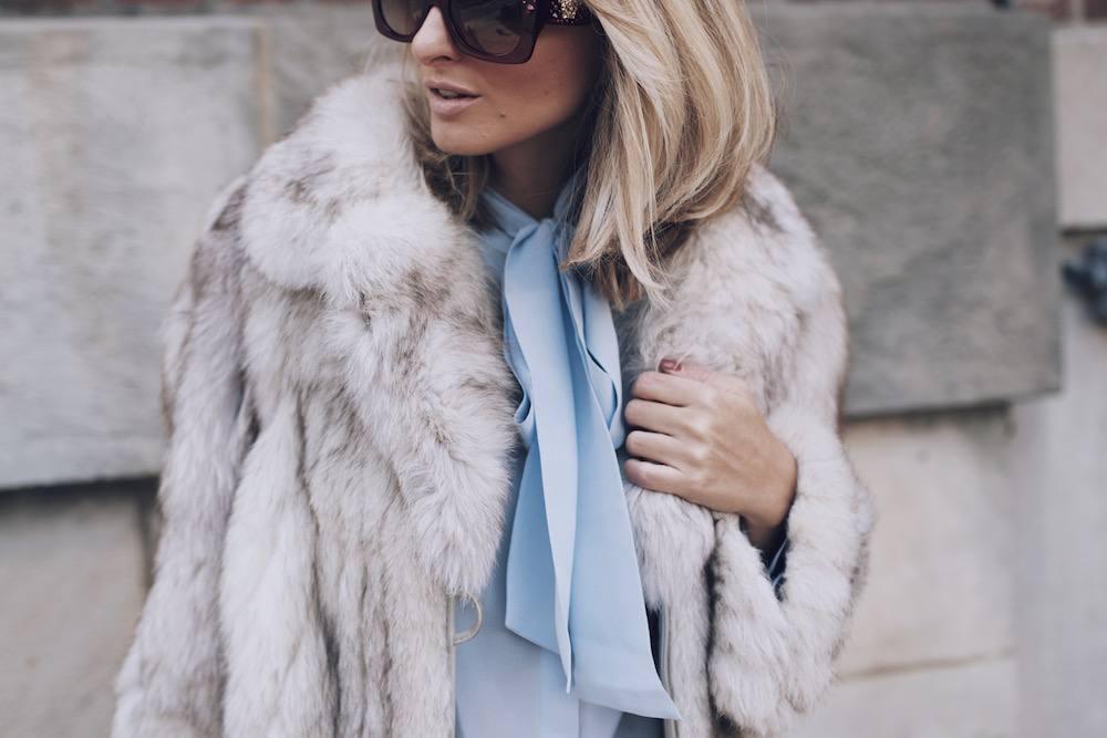 Jetset Justine Fur Coat Style MFW 08