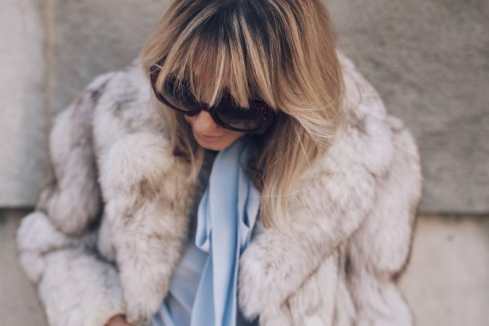Jetset Justine Fur Coat Style MFW 09