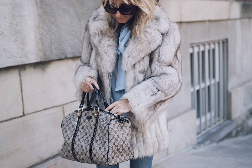 Jetset Justine Fur Coat Style MFW 13