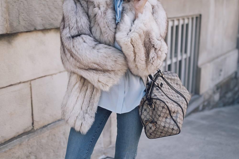 Jetset Justine Fur Coat Style MFW 15