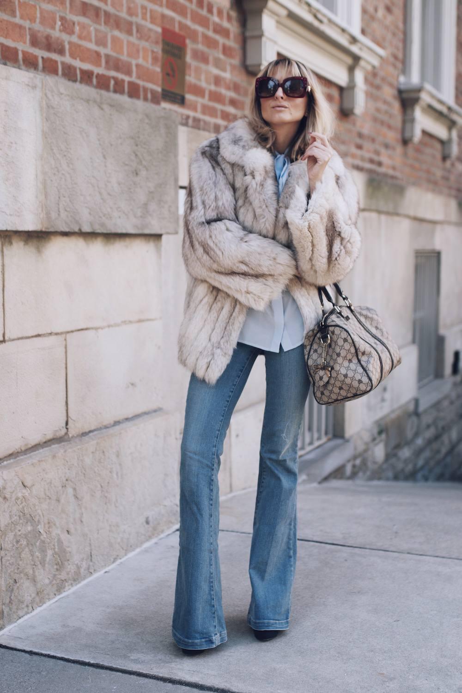 Jetset Justine Fur Coat Style MFW 19
