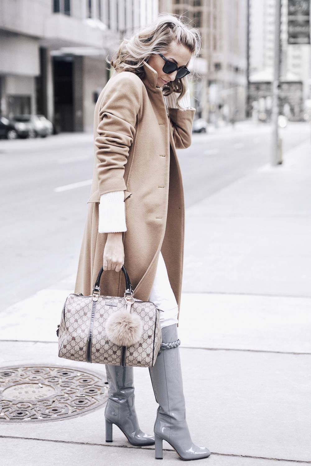 styling a camel coat
