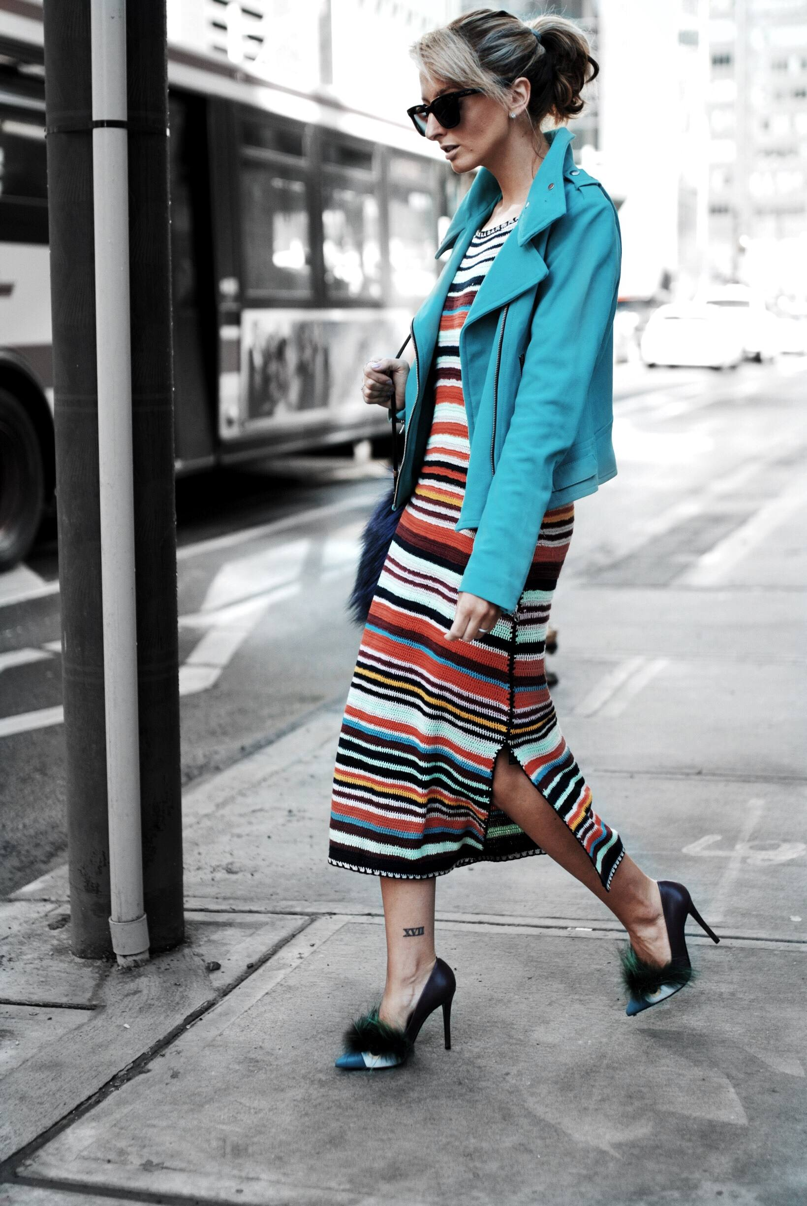 colourful street style