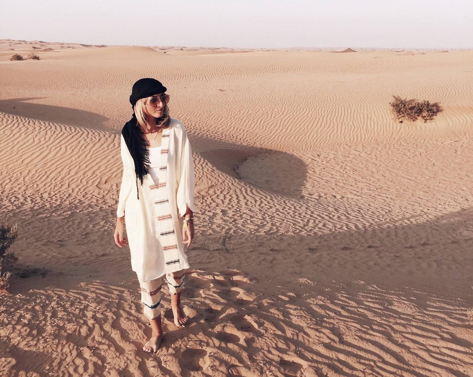 A Damsel in Dubai