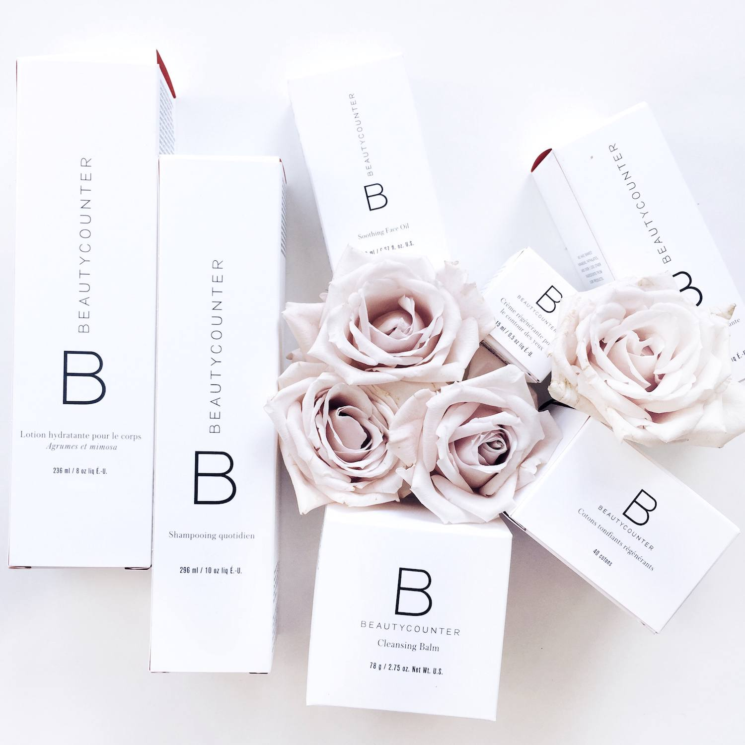 white beauty packaging