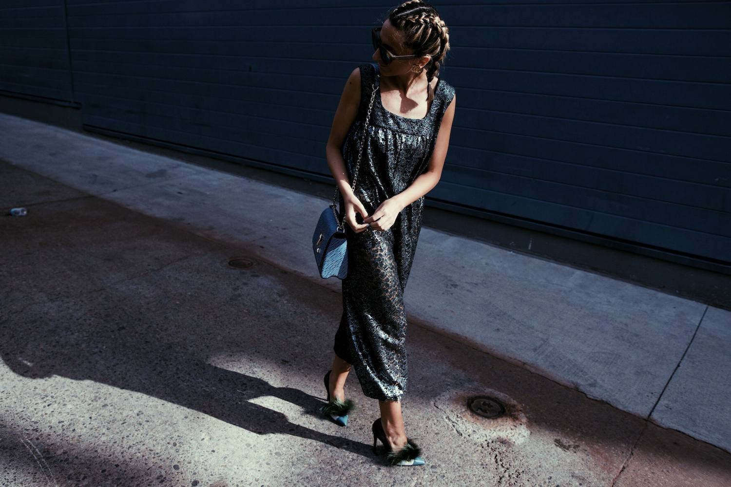 Chanel Jumpsuit, Fendi Bag Bug Shoes, Louis Vuitton Epi Leather Twist, Boxer Braids 04