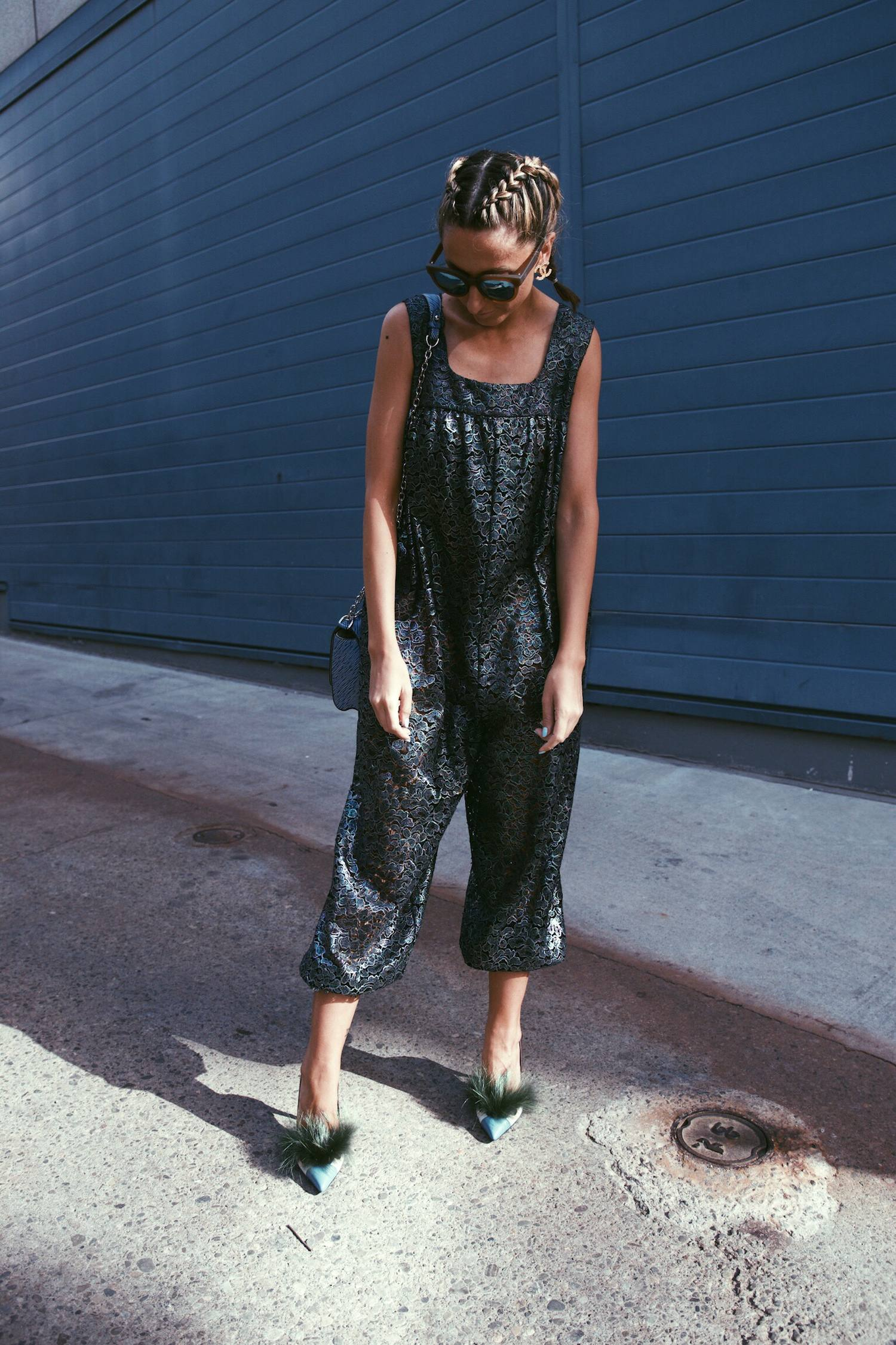 Chanel Jumpsuit, Fendi Bag Bug Shoes, Louis Vuitton Epi Leather Twist, Boxer Braids 07