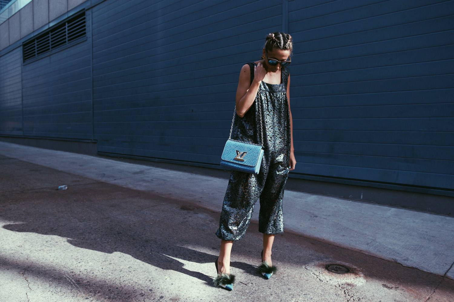 Chanel Jumpsuit, Fendi Bag Bug Shoes, Louis Vuitton Epi Leather Twist, Boxer Braids 10