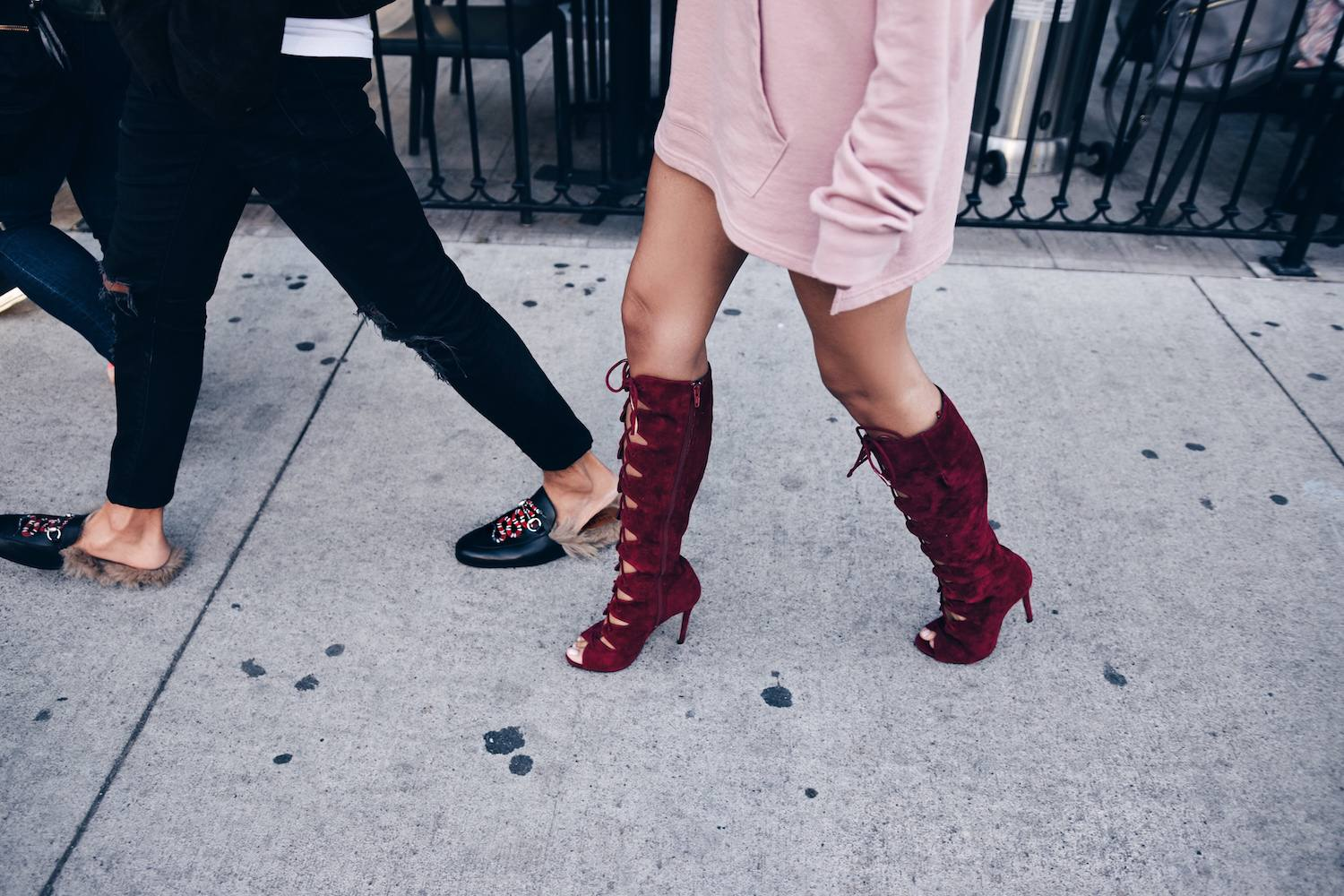 Cool Red Boots