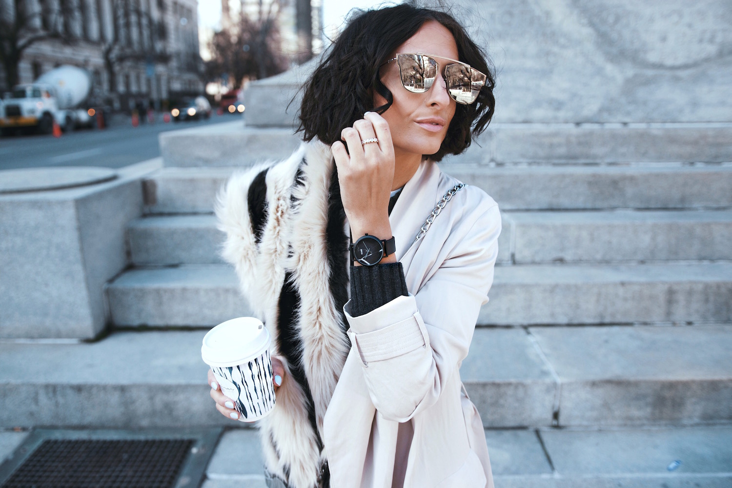 Spring Wardrobe Update with My CLUSE Watch