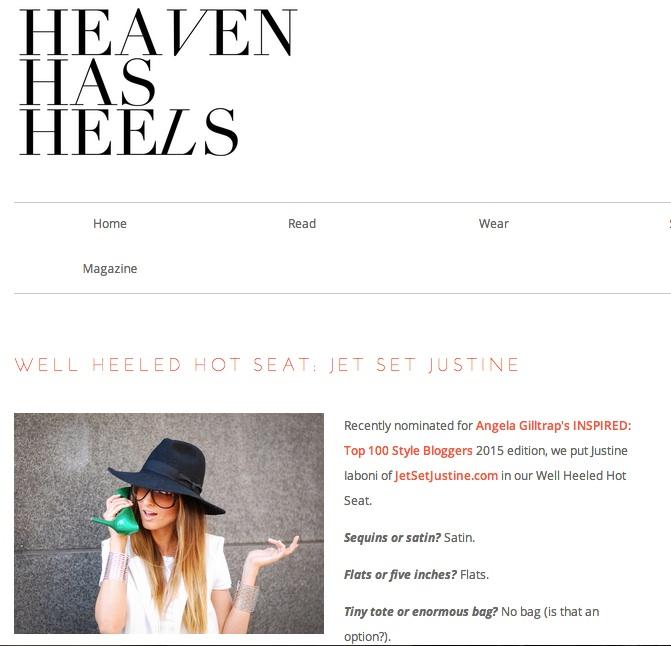 Press   Heaven Has Heels