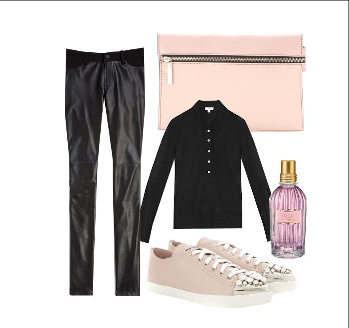 Jetset Style | Pink and Black Chiaroscuro